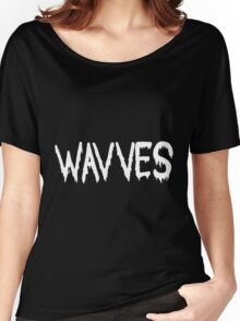 Wavves black Women's Relaxed Fit T-Shirt