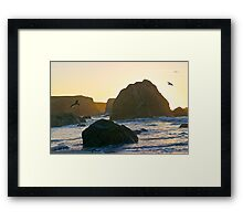 Sunset Point of View Framed Print