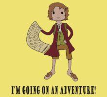 Going on an adventure One Piece - Short Sleeve