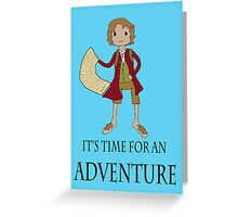 Going on an adventure Greeting Card