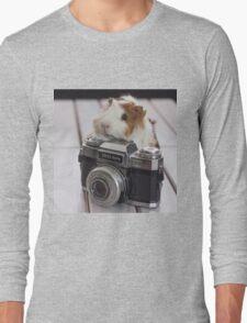 Guinea photographer Long Sleeve T-Shirt