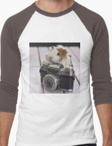 Guinea photographer Men's Baseball ¾ T-Shirt