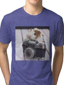 Guinea photographer Tri-blend T-Shirt