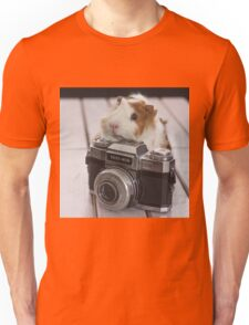 Guinea photographer Unisex T-Shirt