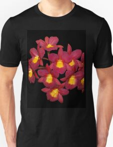 Orchids Red and Yellow T-Shirt