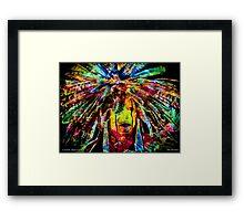 COSMIC WARRIOR Framed Print