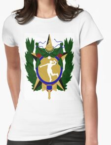 Brazilian Volleyball Womens Fitted T-Shirt