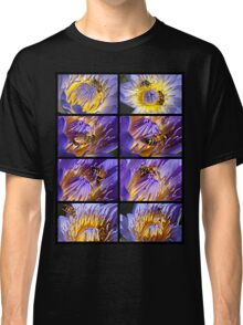 Bee and Water Lily Classic T-Shirt