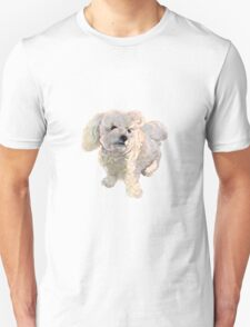 "A beautiful Bichon named ""Coconut"" Unisex T-Shirt"