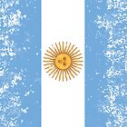 Flag of Argentina by quark