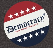Democracy (Some Restrictions Apply) by Mike Mai