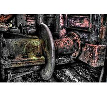 Rail Couplings Photographic Print