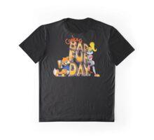 Conker's Bad Fur Day N64 Retro nintendo game fan shirt Graphic T-Shirt