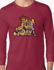 Conker's Bad Fur Day N64 Retro nintendo game fan shirt Long Sleeve T-Shirt