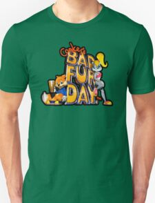 Conker's Bad Fur Day N64 Retro nintendo game fan shirt T-Shirt