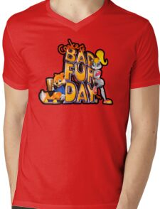 Conker's Bad Fur Day N64 Retro nintendo game fan shirt Mens V-Neck T-Shirt