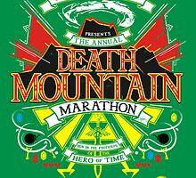Hyrule's Death Mountain Marathon by girardin27
