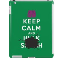 Keep Calm and ... - Hulk Smash iPad Case/Skin