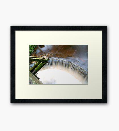 taps Framed Print