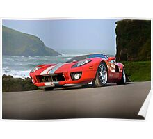 Ford GT 'Cruz'n the PCH' Poster