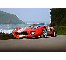 Ford GT 'Cruz'n the PCH' Photographic Print