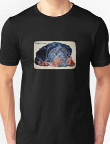 Rottweiler Puppy Portrait With Pedigree Charm Greeting T-Shirt