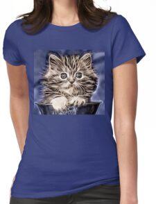 Wild nature - pussy #13 Womens Fitted T-Shirt