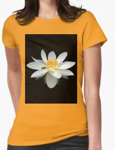 White Lotus Flower Frog and Native Bee T-Shirt