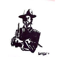 """Gun Slinga"" Photographic Print"
