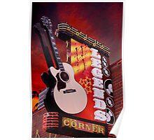 The Legends Corner Poster
