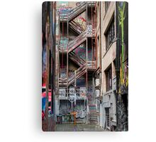 Hosier Lane,  Melbourne 1 Canvas Print