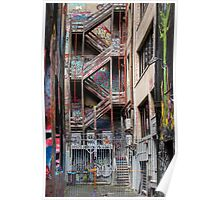 Hosier Lane,  Melbourne 1 Poster