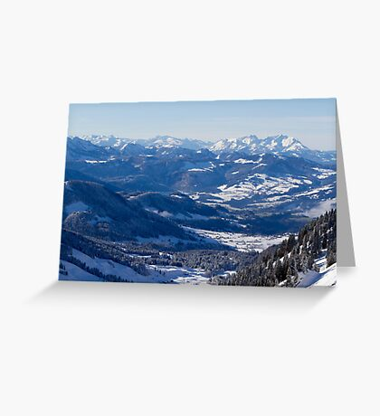 Winter Lanscape Greeting Card