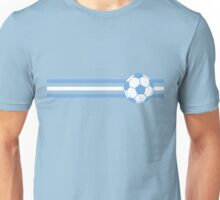Football Stripes Argentina Unisex T-Shirt