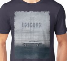 Ford Mustang Eleanor Unicorn Movie Inspired Muscle Car Unisex T-Shirt