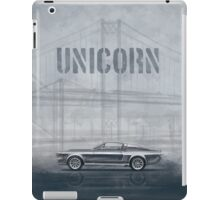 Ford Mustang Eleanor Unicorn Movie Inspired Muscle Car iPad Case/Skin
