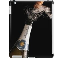 Celebration Theme With Exploding Champagne iPad Case/Skin
