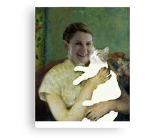 Molly and Toby Canvas Print