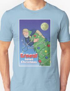 Ernest (Hemingway) Saves Christmas Unisex T-Shirt