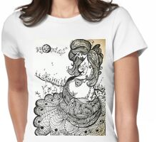 Growing As A Mother Womens Fitted T-Shirt
