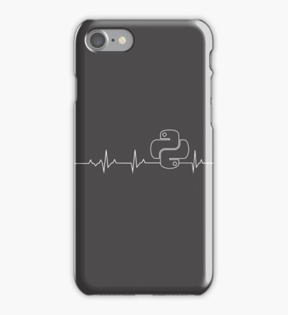 I'm a Programmer, I have a Python Heartbeat iPhone Case/Skin