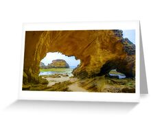 Two Arches. Greeting Card