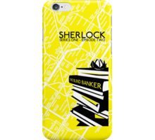 Sherlock - The Blind Banker Episode Poster iPhone Case/Skin