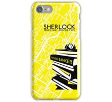 Sherlock - The Blind Banker Episode Poster iPhone Case/Skin