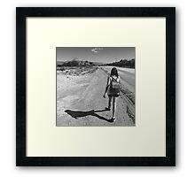 Eternal wanderer Framed Print