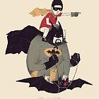 to the batmobile by louros