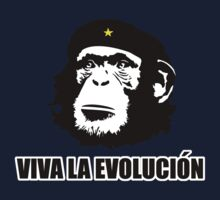 Viva La Evolucion Funny Chimp Che One Piece - Short Sleeve