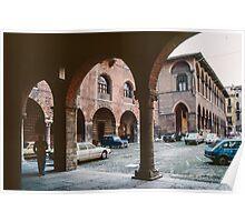 Courtyard of  Palazzo del Capitano Verona Italy 19840419 0043  Poster