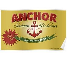 Will Your Anchor Hold Poster