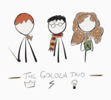 The Golden Trio by orgarren